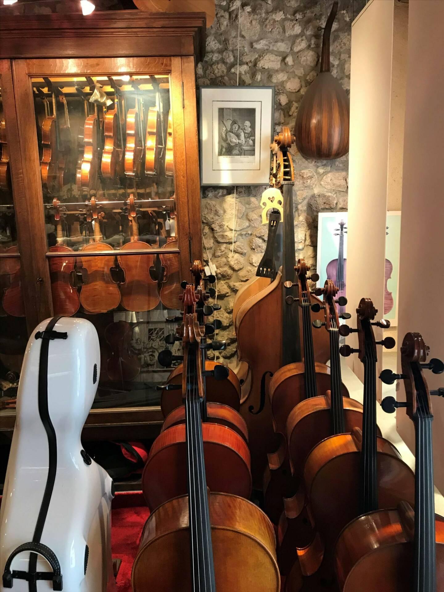 Toutes expertises de violons dans la région d'Orléans | Denis Caban