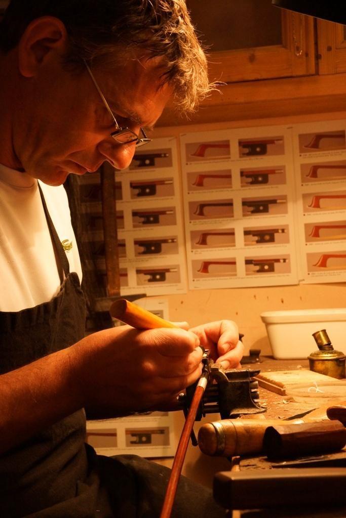 Réglage et réparation de violons dans le secteur d'Orléans | Denis Caban