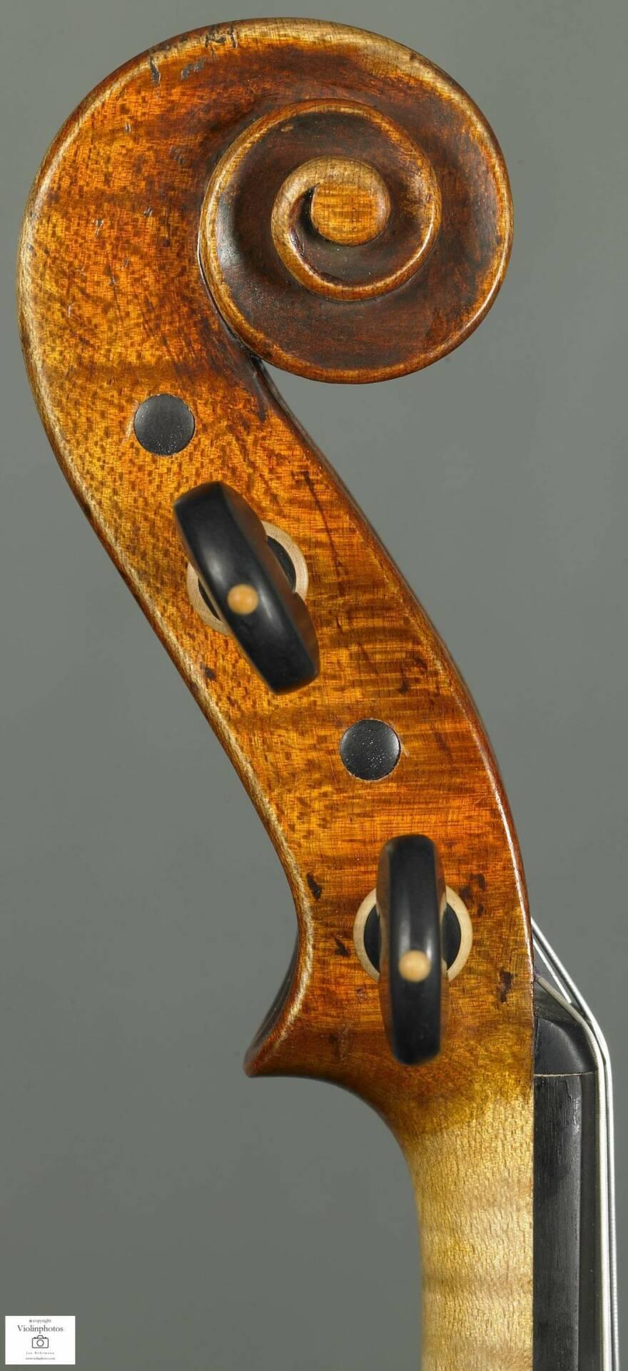 Violon Denis Caban-Copie Maggini 1620-Tete